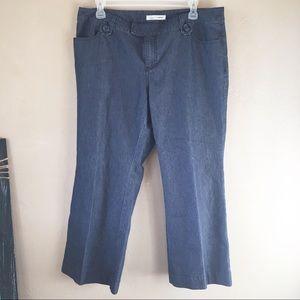 Soft by Avenue wide leg plus size jeans size 18